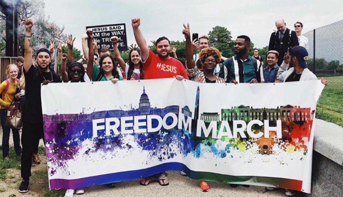 Ex-homossexuais fazem passeata nos EUA